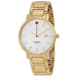 Kate Spade Gramercy Grand Gold Watch